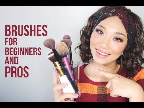 BRUSHES You Must Have (Beginners and Pro's) | Raiza Contawi