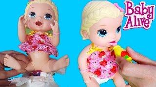 Baby Alive Oyuncak Bebek Lily Açlıktan Kıvranıyor   Bebek Bakma   Oyuncak Butiğim