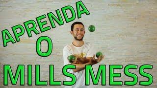 Mills Mess - Tutorial 3 bolinhas - Aprenda Malabarismo! (Juggling tutorial - 3 balls)