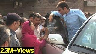 Dunya News-Hamza Shahbaz visits families of Shahdara manhole victims