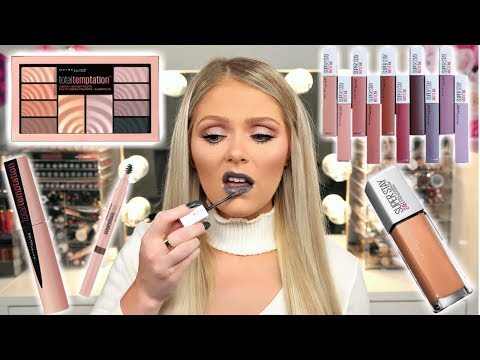 Xxx Mp4 NEW DRUGSTORE MAKEUP 2018 MAYBELLINE FULL FACE FIRST IMPRESSIONS 3gp Sex