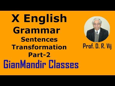 Xxx Mp4 X English Grammar Sentences Tranformation Part 2 By Nandini Ma Am 3gp Sex