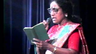"O"" Rasikkum Seemaane - M.S.Rajeswari with ApSaRas"