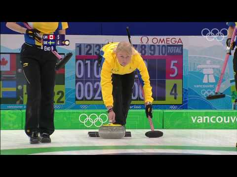 Canada vs Sweden Women s Curling Gold Medal Match Highlights Vancouver 2010 Olympics