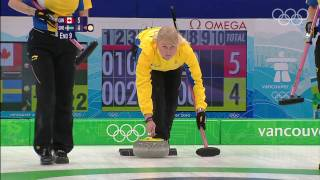 Canada vs Sweden - Women's Curling Gold Medal Match Highlights - Vancouver 2010 Olympics