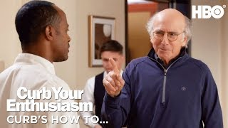 How to Make a Face | Curb Your Enthusiasm | Season 9