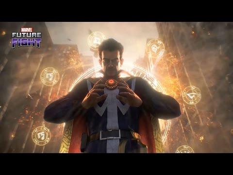 Marvel Future Fight [Thanos vs Doctor Strange] (Full CG trailer)