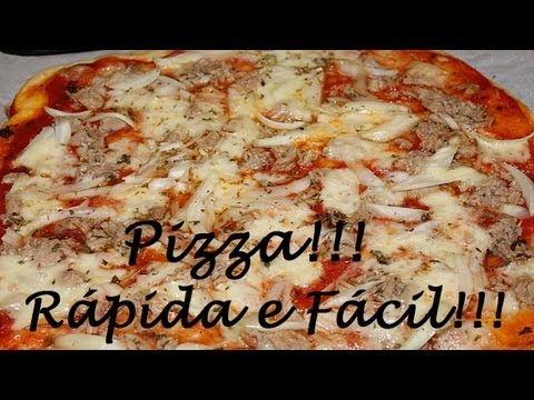 Pizza Rápida Fácil e Gostosa