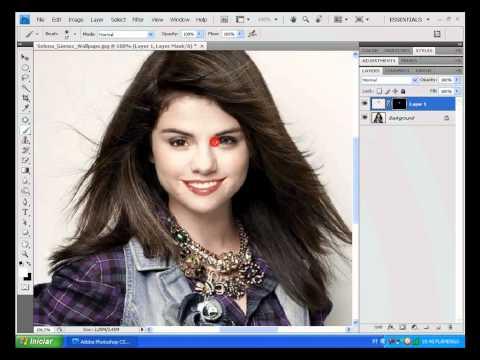 Truques photoshop Como colocar rosto em outra foto.