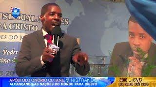 Ungido para profetizar-Apóstolo Onório Cutane