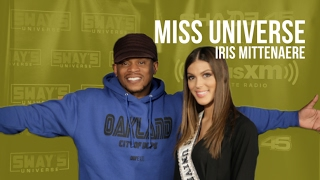 Miss Universe: Iris Mittenaere Interview on Sway in the Morning | Sway's Universe