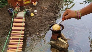 Miniature Chole Bhature | Chole Bhature Recipe | Miniature Cooking #17 | Mini Foodkey