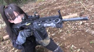 HK416 EBB Gunsmith バトン コンプリートカスタム