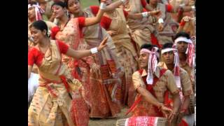 Bihu Dance Fastival Of Assam
