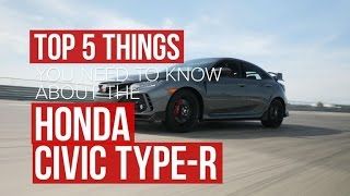 Honda Civic Type R: Give things you need to know