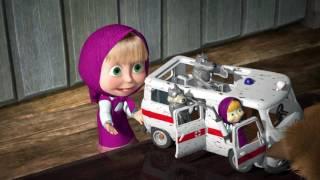 Маша и Мечока - комплект играчки с линейка