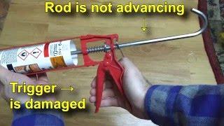Caulk Gun repair (DIY)