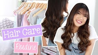 Hair Care Routine + Tips for Frizzy Hair! (Philippines) | Janina Vela