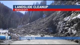 Landslide Cleanup near Elk City