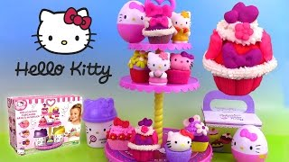 Pâte à modeler Play Doh Hello Kitty Cupcake Tower Cupcakes ♥ Plastilina ハローキティ