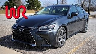 2017 Lexus GS 200t - WR TV POV Test Drive & Review