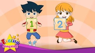 One, Two, Buckle My Shoe - counting out rhyme - English Nursery Rhyme - Kids number song with lyrics