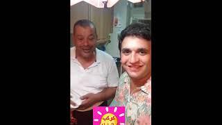مصطفي خاطر وكريم عفيفي ◄ نجوم مسرح مصر عملين عزومة في مرينا