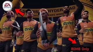 (80MB) How to Play EA Cricket 2000 Game in Any Android Device With Proof