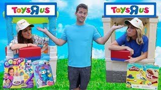 New FAKE Toys R Us Store Competition ~ Kids PRANK Video ~