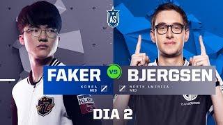 Faker x Bjergsen (All-Star 2017 - 1x1)