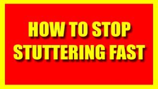 How To Stop Stuttering Fast 2014 -Quick Way To Prevent Stuttering For Adults & Children When Nervous