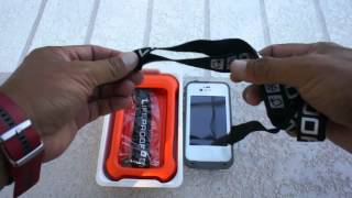 Lifeproof Lifejacket unboxing, drop test and water test from ICAST 2012