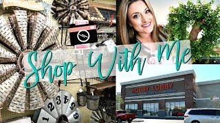 SHOPPING AT HOBBY LOBBY, BBW, & SAM'S CLUB   Shop With Me Vlog   Cook Clean And Repeat