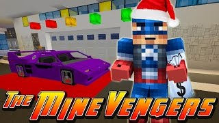 Minecraft MineVengers - CHRISTMAS SHOPPING FOR IRON-MAN!!