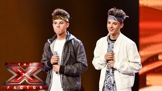 The Brooks sing David Guetta's Without You | Boot Camp | The X Factor UK 2014