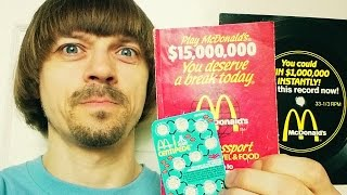 80s McDonalds Contests -(Weird Paul) Menu Song Record Monopoly Video Olympics Facts Vlog History