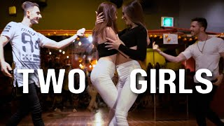 YOU HAVE TO SEE THIS HOT BACHATA DANCE UNTIL THE END - [Ofir and Ofri & Maychael and Mayra]