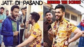 Pasand Jatt Di BEHIND THE SCENE ----- Gitaz Bindrakhia