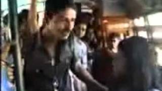 Bengali Girl and Boy Fight in the Bus