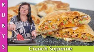 Keemay Wala Crunchy Wrap Taco Bell Wala Recipe in Urdu Hindi  - RKK