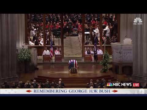 "Download Michael W. Smith sings ""Friends"" at President Bush's Funeral"