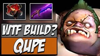 Qupe Pudge with Shadow Blade & MoM | Dota Gameplay