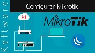 Configuración de Mikrotik Desde Cero dar Acceso a Internet