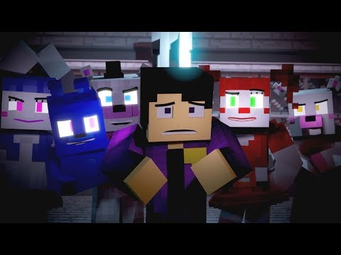 Xxx Mp4 Nightmare By Design FNAF Minecraft Music Video 3A Display Song By TryHardNinja 3gp Sex