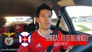 O JOGO! Ao vivo Benfica 5 x 0 Os Belenenses 3ªj. Liga 2017/2018