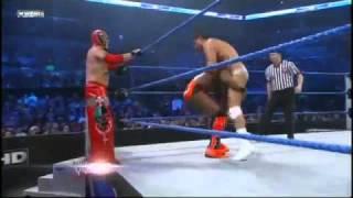 WWE Smackdown 21/12/10 - Rey Mysterio & Kofi Kingston vs Alberto del Rio & Jack Swagger (HQ)