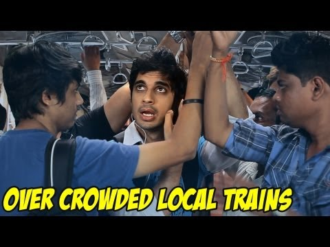 How To Survive - Over Crowded Local Trains!!! Episode 8 bindass
