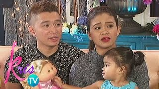 Kris TV: Baby Mela loves to read and write