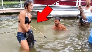 5 Shocking Fishing Moments Caught On Camera !