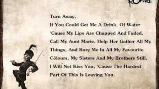 My Chemical Romance - [Cancer]  (Lyrics)